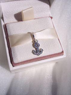 Pandora Symbol Of Stability High Fashion Anchor CZ Genuine Designer Bracelet Glam Pendant/Charm FREE SHIPPING Gift Box Sold Separately by JEWELSELAGANT on Etsy