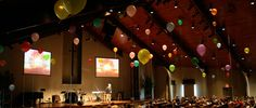"Ben Stapley from South Ridge Community Church in Clinton, NJ brings us this use of 99 balloons. One Sunday, they showed the video ""99 Balloons"" about hope in the middle of tragedy. They tied up 99 ..."