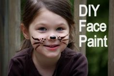 How To Make Homemade Face Paint - So Safe You Can Eat It!