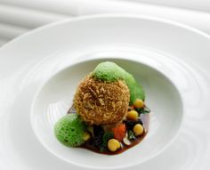 Add a little crunch to tender spring lamb with this Dominic Jack recipe for Lamb croquette with chickpea and coriander.