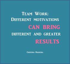Cristina Madeira » Diferentes motivações, sucesso garantido
