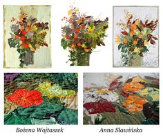 The Textile Cuisine: Autumnal bouquet for Spring / Jesienny bukiet na wiosnę