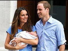 For @Angela Anglin  Will, Kate, and their baby boy
