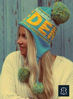 Robin Ruth - Sweden - Winter hat blue and yellow