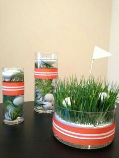 Golf centerpiece