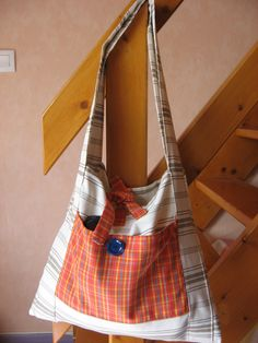 Grand sac de plage tuto rapide et facile Sacs Tote Bags, Mac, Pouch Bag, Sewing, Lots, Women, Style, Crafting, Fashion