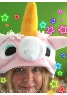 A personal favorite from my Etsy shop https://www.etsy.com/listing/250343859/magical-unicorn-hat