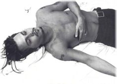 Johnny Depp - shirtless...dream a little dream of me...please