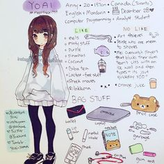 "Yes I spelled ""artist"" wrong. I am tired 흫_흫 I had a lot of trouble drawing myself. #meettheartist"