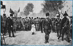 Mersin 17 Mart 1923 Mustafa Kemal Atatürk ve eşi Latife hanım ile  Mersin ziyarti..