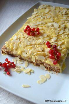 Prajitura suedeza cu migdale ikea (16) Romanian Food, Biscotti, Macaroni And Cheese, Oatmeal, Food Porn, Food And Drink, Cooking Recipes, Sweets, Breakfast
