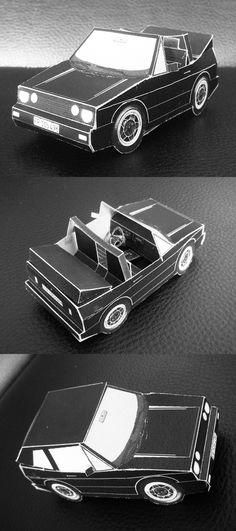 VW Golf Cabriolet ATS origami