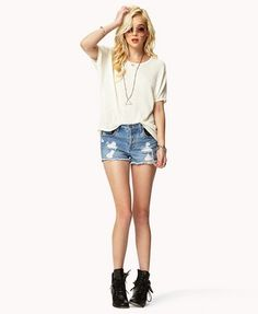 Lace Paneled Dolman Top | FOREVER21 - 2048230702