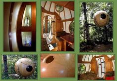Sphere Tree houses...