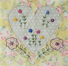 #60 Hearts and Flowers by Fiona Ransley