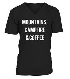# Mountains, Campfire & Coffee .  NICHT IM EINZELHANDEL ERHÄLTLICH!Bestelle für Deine Familie oder Freunde (Sammelbestellung) gleich mit und spare an den Versandkosten.Wie kannst Du kaufen?1. Klicke unten den grünen JETZT BESTELLEN Button.2. Wähle Deine Größe & Stückzahl.3. Zahlungsmethode & Deine Lieferadresse angeben. FERTIG!Garantiert sichere Abwicklung über:Hole Dir diese LIMITIERTEN T-Shirts oder Hoodies in Deiner Größe!Wenn Du auf den großen grünen Button drückst, kannst Du Deine…