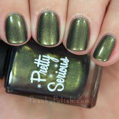 Pretty Serious Cosmetics Nuke The Fridge | Post Apocalyptic Princess Collection | Peachy Polish