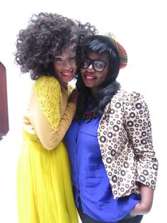 Solange Knowles and Fashion Designer Anisa Mpungwe of Loin Cloth & Ashes.