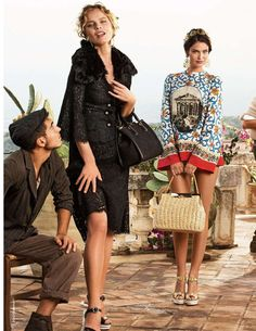 Dolce Gabbana 2014 #spring_style #moda #primavera_verano