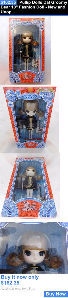 Dolls And Bears: Pullip Dolls Dal Groomy Bear 10 Fashion Doll - New And Unopened BUY IT NOW ONLY: $162.35
