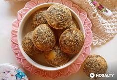 Mákos-cukkinis muffin mindenmentesen