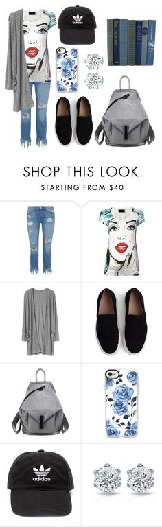 """Untitled #420"" by syshrn ❤ liked on Polyvore featuring 3x1, Philipp Plein, Chloé, Kendall + Kylie, Casetify and adidas"