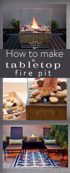 How to Make a Personal Fire Pit For Cheap! - Fire Pit - Ideas of Fire Pit - Backyard fire pits can be really expensive plus they might not be the style you like. Using this DIY you can personalize & size it exactly how you want it. Small Fire Pit, Modern Fire Pit, Diy Fire Pit, Fire Pit Backyard, Fire Pit For Balcony, Fire Pit Table Top, Backyard Drainage, Fire Pit Bowl, Fire Pit Ring