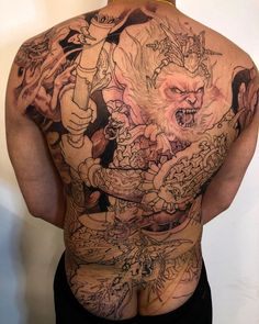2376557bd 31 Best monkey king tattoos images in 2018 | Monkey king, Tattoo ...