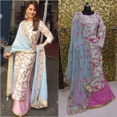 Madhuri Dixit White Designer Suit  Product Details : D.No=23 Heavy Embroiderey Work Semi Stitch Suit Top:-Banglory Silk Duppatta:-60 Gm(2.5 Mtr) Bottom:-Banflory  Silk Size 44  Price : 2400 INR Only ! #Booknow  CASH ON DELIVERY Available In India !  World Wide Shipping ! ✈  For orders / enquiry 📲 WhatsApp @ +91-9054562754 Or Inbox Us , Worldwide Shipping ! ✈ #SHOPNOW  #lehenga #lehengacholi #designerlehenga #karishmakapoor #bollywood #love #girl #fashion #lifestyle #l..