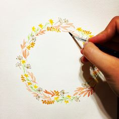 Wreath illustration