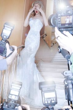 Atelier Aimee red carpet wedding dress