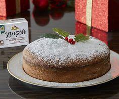 Greek Sweets, Greek Desserts, Greek Recipes, Fun Desserts, Dessert Recipes, Vasilopita Cake, Vasilopita Recipe, Christmas Sweets, Christmas Cooking