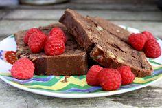 Dark Chocolate Almond Bread ~ Little Blog on the Internet
