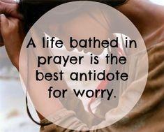 God's Peace through Prayer