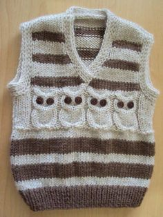 This Pin was discovered by Sev Baby Boy Cardigan, Crochet Baby Cardigan, Knit Baby Sweaters, Boys Sweaters, Sweater Cardigan, Baby Knitting Patterns, Knitting Designs, Baby Patterns, Toddler Vest