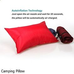 Camping Pillow - incredible selection. Need to visit...