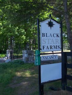 blackstar farms, Suttons Bay, Michigan. Perfect place, perfect day!