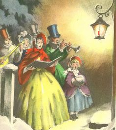 1000+ images about Christmas Carolers on Pinterest ...