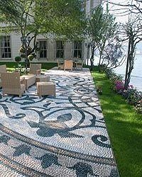 De Ferranti pebble mosaic