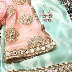 I like the color combo «.a Diwali sneak peak of what's to come - MKJ Ready-To-Wear Indian Evening Wear- [inspired by the {Udaipur Tea Party Collection} ] For inquiries :… Punjabi Salwar Suits, Pakistani Dresses, Patiala Salwar, Indian Dresses, Anarkali, Indian Suits Punjabi, Lehenga, Indian Wedding Outfits, Bridal Outfits