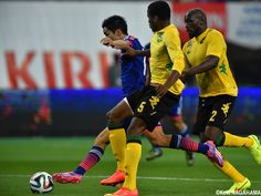 Yoshinori Muto - FW KIRIN CHALLENGE CUP Japan vs. Jamaica at DENKA BIG SWAN STADIUM 2014-10-10