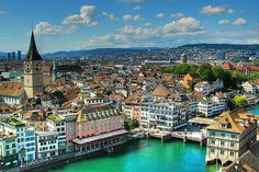 Zurich, Switzerland.  Look at that! Gorgeous! Lets pretend its not Switzerland so someone doesn't get all full of themself.