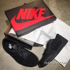 09c28be80 Air Jordan 1 Low Premium Triple Black 919701-010 New Release. Jordan Shoes  For WomenJordan ...