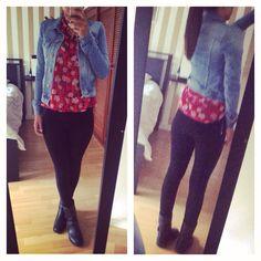 #zin #outfit #fashion #mycloset #mystyle #boots #flowers