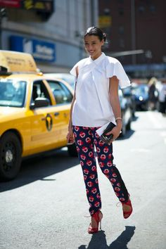 Lily Kwong NYFW Spring 2014 Street Style