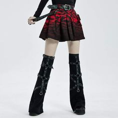 Brand:Punk Rave Material:Cotton;Faux Leather;Polyester Weight:0.41KG Size:XS-2XL Sku:WS-462JTF Punk Rave, Underbust Corset, Leg Warmers, Women's Accessories, Denim Skirt, Vintage Fashion, Skinny Jeans, Lace, Skirts