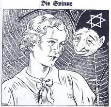 Caricatura de Der Stumer, 1937.