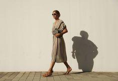 . Vestido / Dress: Zara  . Bolso / Bag: Mango  . Sandalias / Sandals: Asos (old) More HERE  . Gafas / Sunnies: RayBan