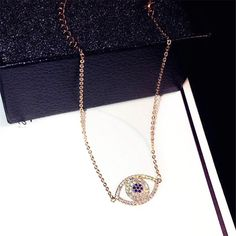 Refinement Luxury Shinning Zircon Evil Eay Bracelets For Women Bijoux Micro Pave Rhinestone Fashion Jewelry Female Gift