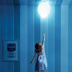 Estiluz Balloon T-3052 Loftlampe - Hvid - Lys-Lamper.dk